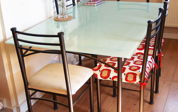 Paint a Glass Table Top