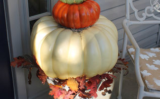 topiaries for fall, crafts, porches, seasonal holiday decor