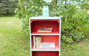 From Drab to Fab Bookcase Makeover!