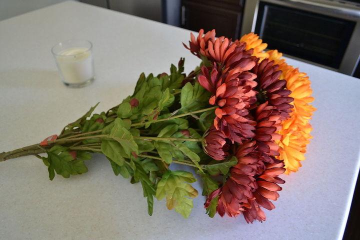 diy fall flower wreath, crafts, seasonal holiday decor, wreaths