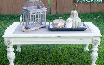 Chalky Finish Coffee Table