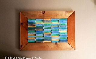 wall art boards beach block reuse end pieces, crafts, home decor, wall decor, woodworking projects