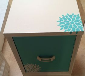 Painted Furniture Nightstand Desk Girls Bedroom Custom, Bedroom Ideas,  Painted Furniture