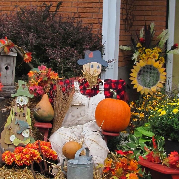 Autumn Yard Decorations: From Yard Fall Harvest Decorations