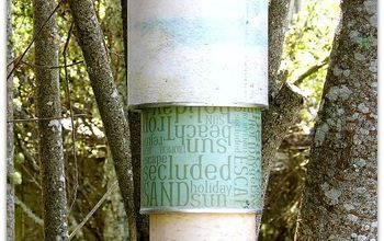 crafts tin can windchime, crafts, outdoor living, repurposing upcycling