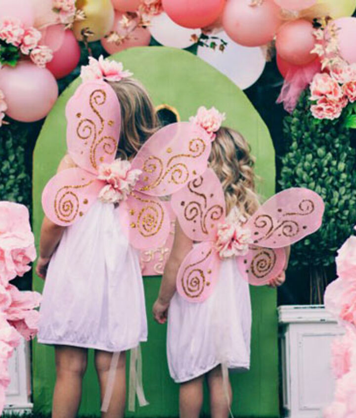 Afforable DIY projects for a fairy party