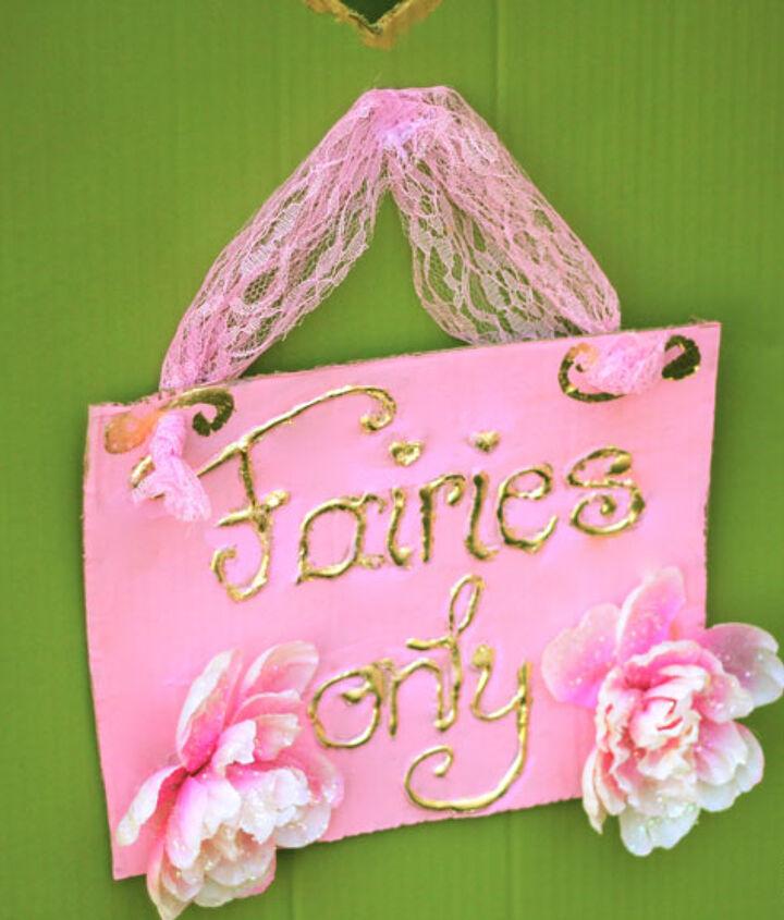 fairy tea party decor budget dollar store, crafts