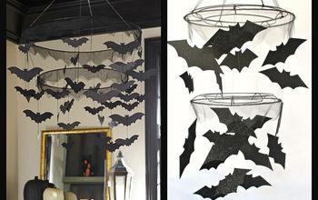 PBK Inspired Bat Chandelier