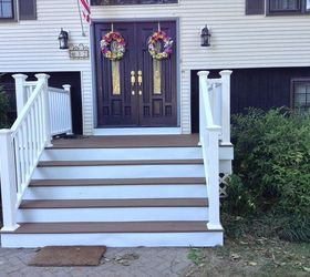 Delicieux Front Porch Stairs Renovation Redo Upgrade, Curb Appeal, Porches