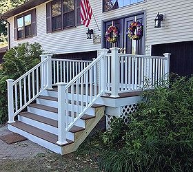 Charmant Front Porch Stairs Renovation Redo Upgrade, Curb Appeal, Porches