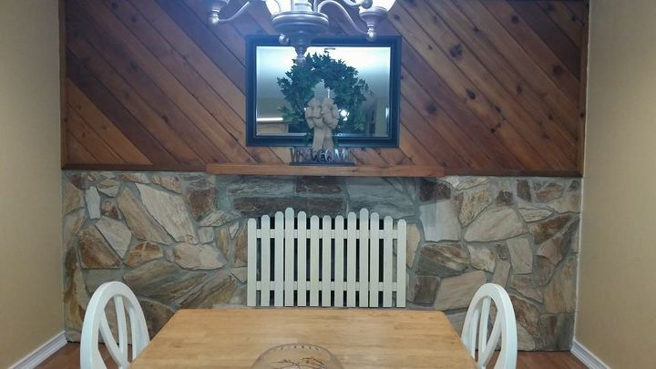 q what to do with a dated fireplace, fireplaces mantels, home decor