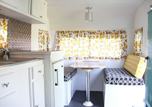 vintage camping trailer before and after, diy, home improvement, repurposing upcycling