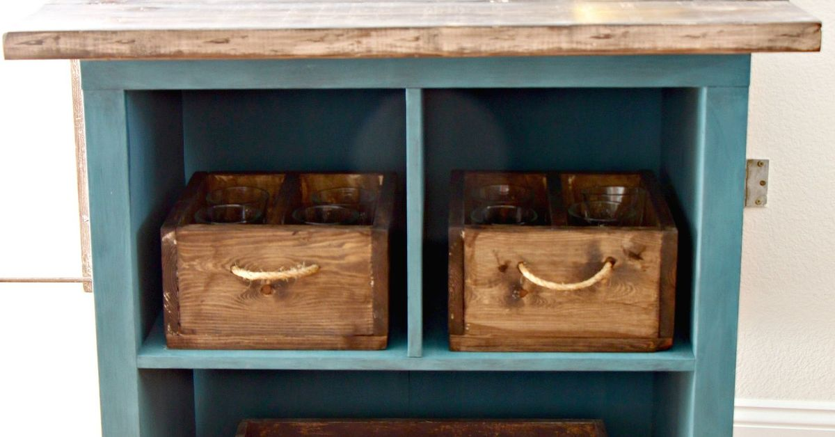 Repurposed Bookshelf Diy Upcycle