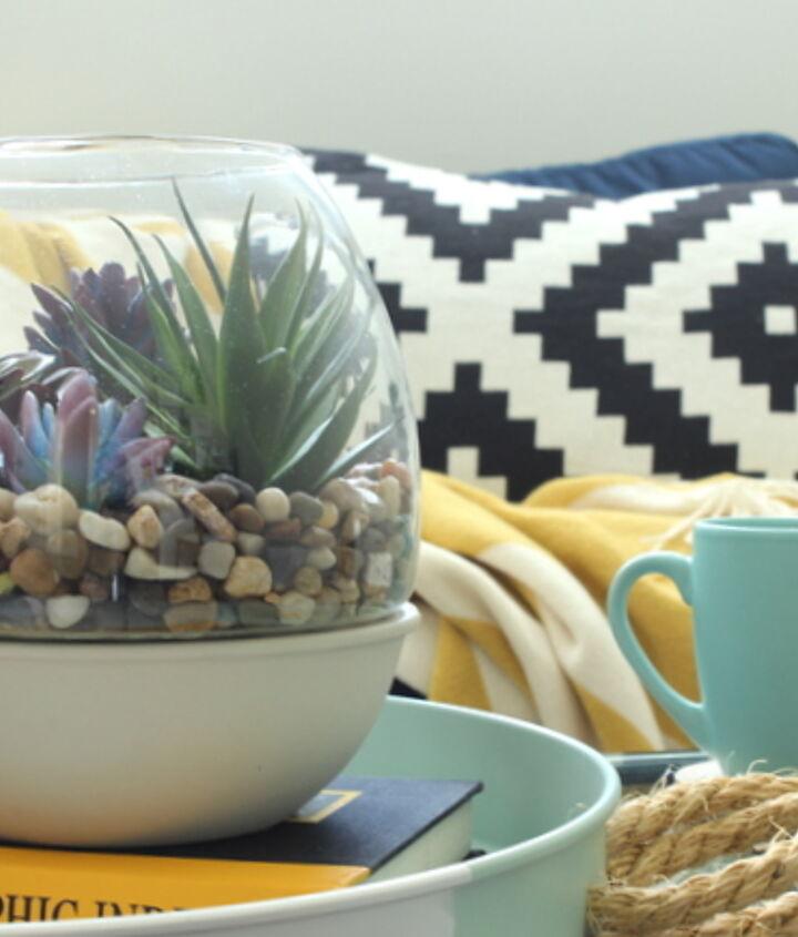 diy succulent garden tutorial, diy, gardening, home decor, succulents