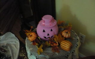 halloween decorations breast cancer month, halloween decorations, seasonal holiday decor