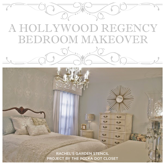 bedroom ideas stencil hollywood regency glam  bedroom ideas  home decor   painting. Hollywood Regency Stenciled Bedroom Makeover   Hometalk