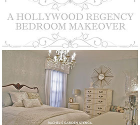 Bedroom Ideas Stencil Hollywood Regency Glam, Bedroom Ideas, Home Decor,  Painting