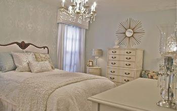 bedroom ideas stencil hollywood regency glam, bedroom ideas, home decor, painting