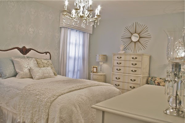 Bedroom Ideas Stencil Hollywood Regency Glam Home Decor Painting