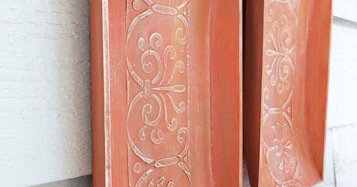 Replicate Aged Terracotta Wall Art   Hometalk