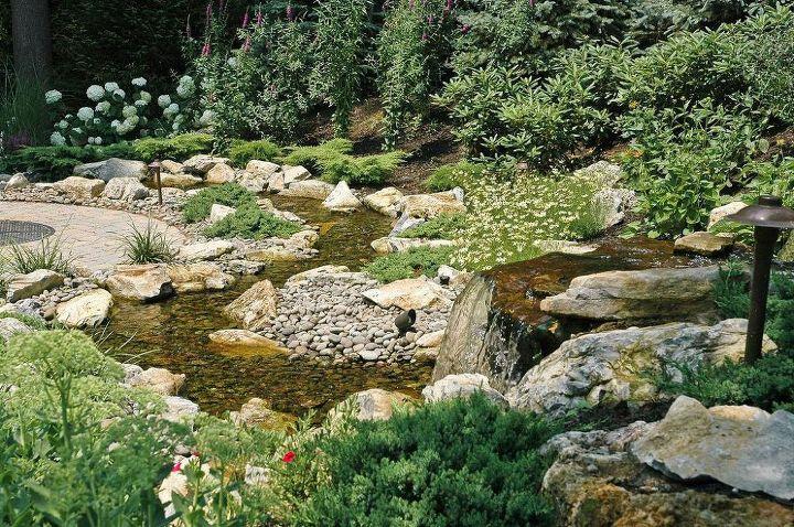 landscaping reservoir aquascape rainxchange, landscape, outdoor living, ponds water features, Eliminating Backyard Noise Problems