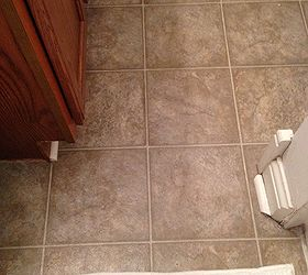 Guest Bathroom Redo Update Budget Affordable Before After, Bathroom Ideas,  Diy, Flooring,