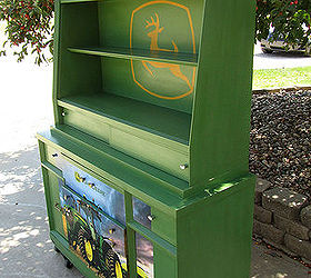 Painted Furniture Dresser John Deere Green, Bedroom Ideas, Painted  Furniture, Repurposing Upcycling