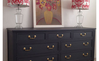rh inspired dresser makeover, chalk paint, painted furniture
