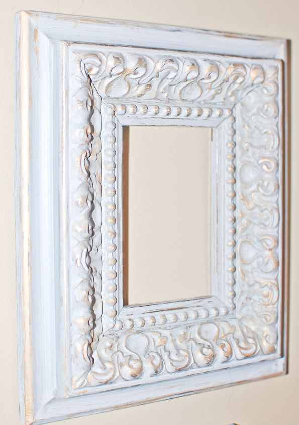 Vintage Frames Spray Painted White For Gallery Wall | Hometalk