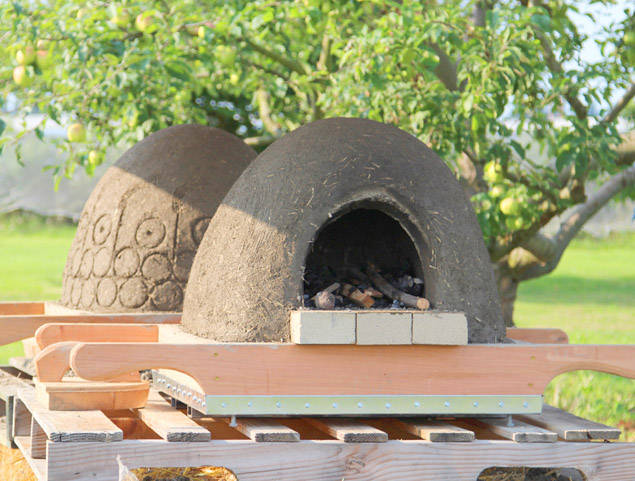 build a wood fired earth oven hometalk