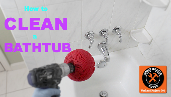 how to clean a bathtub fast, bathroom ideas, cleaning tips, home maintenance repairs, how to