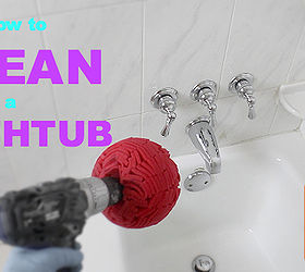 How To Clean A Bathtub Fast, Bathroom Ideas, Cleaning Tips, Home  Maintenance Repairs