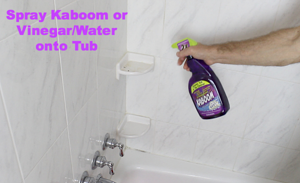 How To Clean A Bathtub FAST Hometalk - Bathroom repair tutor
