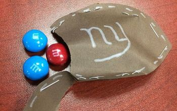 How to Make Candy Filled Football Bags