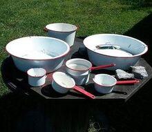 q old wash bins pots repurposing ideas, repurposing upcycling