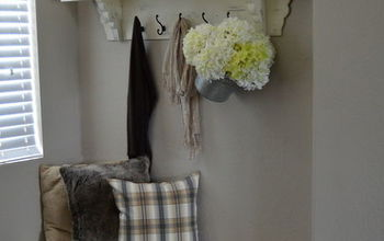 Rustic-Chic Fall Entryway Makeover