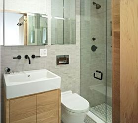 small bathroom solutions bathroom ideas small bathroom ideas Using the same tile across & Small Bathroom Solutions | Hometalk
