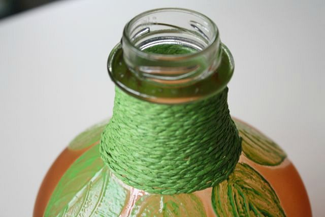 diy frosted pumpkin vase, crafts, repurposing upcycling, seasonal holiday decor