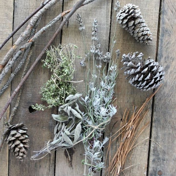 dried herb firestarter, crafts