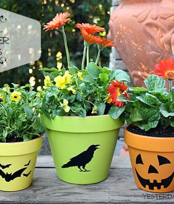 Give your flower pots a fresh look for fall