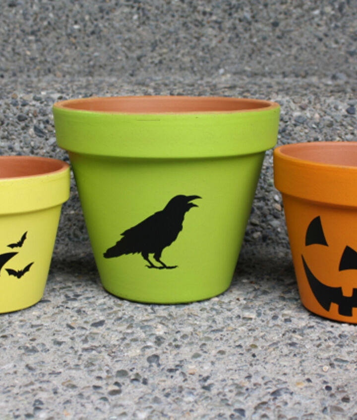fall flower pots, flowers, gardening, repurposing upcycling, seasonal holiday decor
