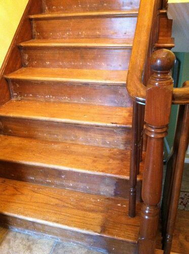 Reconditioning Or Refinishing Wood Staircase Hometalk
