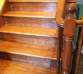 ... However, I Would Like To Clean Up The Stairs Before Putting A New  Runner On Them. What Would Be The Best (easiest) Way To Do This?