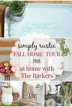 fall home decor rustic simple, home decor, seasonal holiday decor