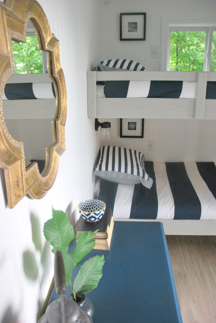 cottage bunk house makeover, bedroom ideas, home decor, how to, painted furniture
