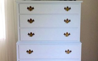 paint paint paint up cycled dresser for a coastal guest room, painted furniture, After