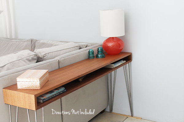 Mid Century Modern Console Table Hometalk