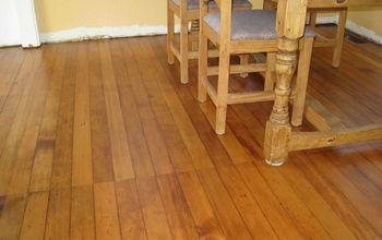 100 Year Old Home - Hardwood Floor Restoration