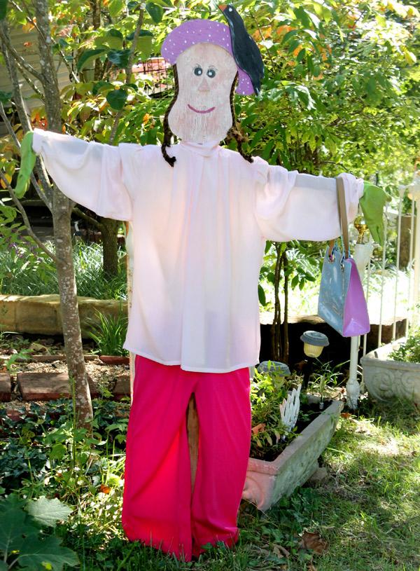 the life of a scarecrow, gardening, seasonal holiday decor