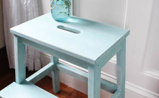 ikea hack creating a vintage stool, bedroom ideas, how to, kitchen cabinets, painting